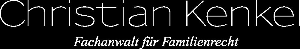 Footer Logo - Christian Kenkel - Familienrecht